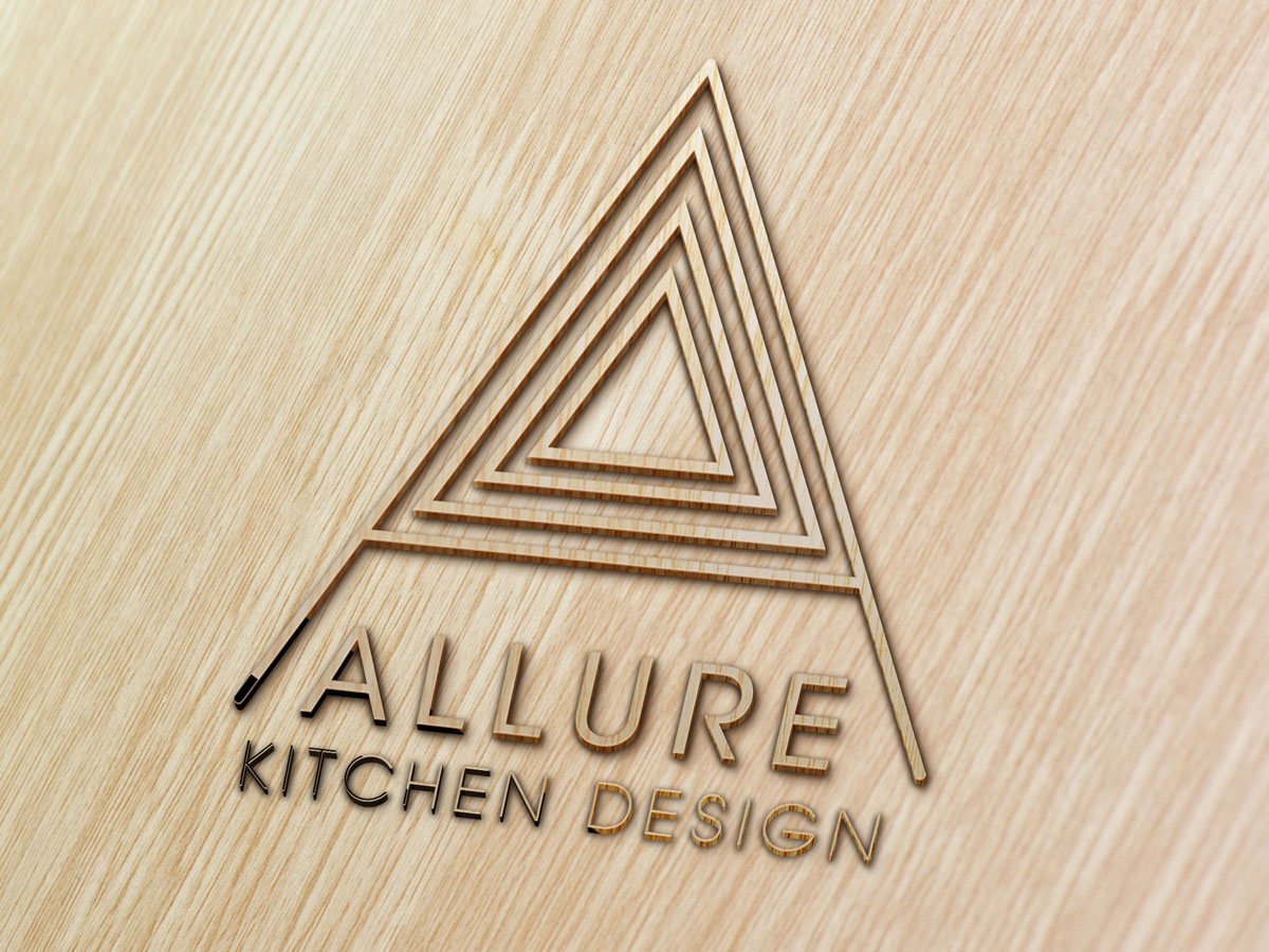 Allure kitchen design logo coast for Kitchen decoration logo