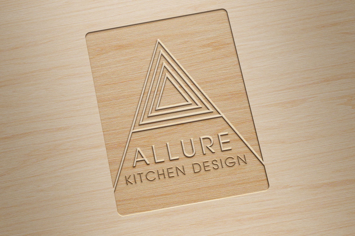 Allure kitchen design logo coast for Allure kitchen cabinets