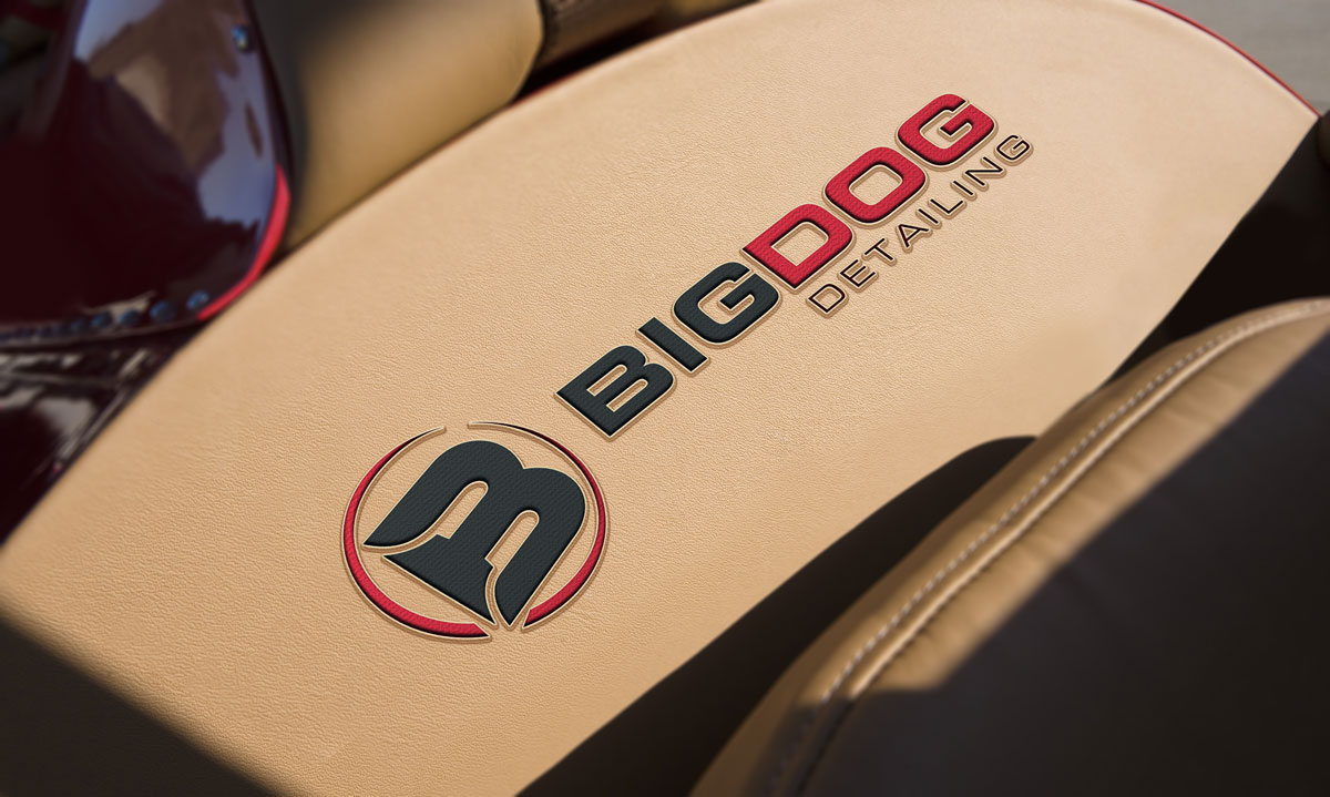 Big Dog Detailing Logo Coast